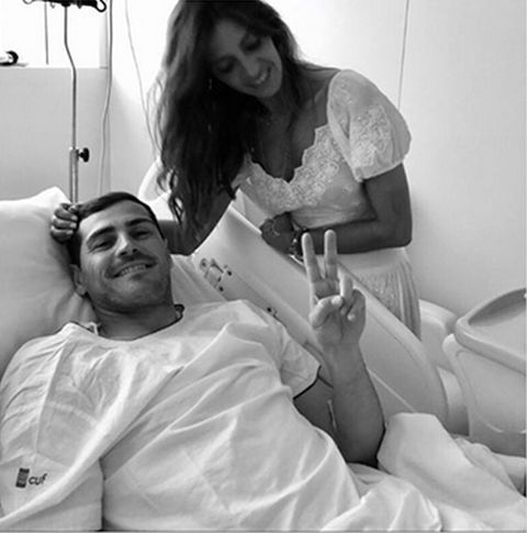 Sara Carbonero Iker Casillas hospital infarto