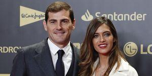 Sara Carbonero felicita a Iker Casillas
