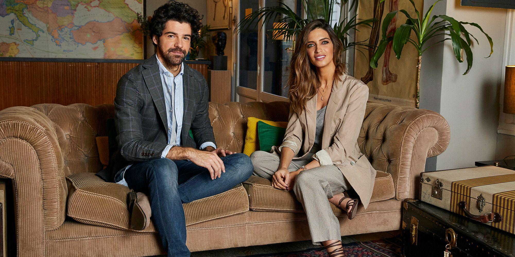 Miguel Ángel Muñoz y Sara Carbonero