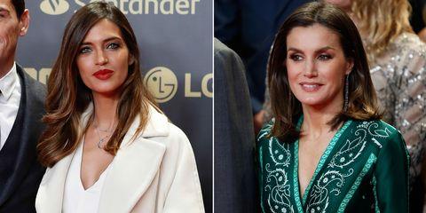 760b16020a Sara Carbonero y la reina Letizia en el aniversario del diario Marca ...