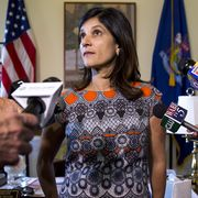 augusta, me   july 3 speaker of the house sara gideon talks the the press in her office at the maine state house during the third day of the state government shutdown rep gideon said that they were not planning on budging on the lodging tax staff photo by brianna soukupportland portland press herald via getty images