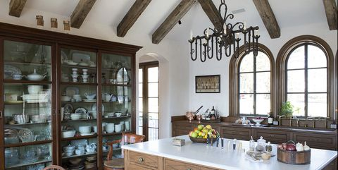 Room, Property, Building, Ceiling, Interior design, Furniture, Beam, Kitchen, Architecture, House,