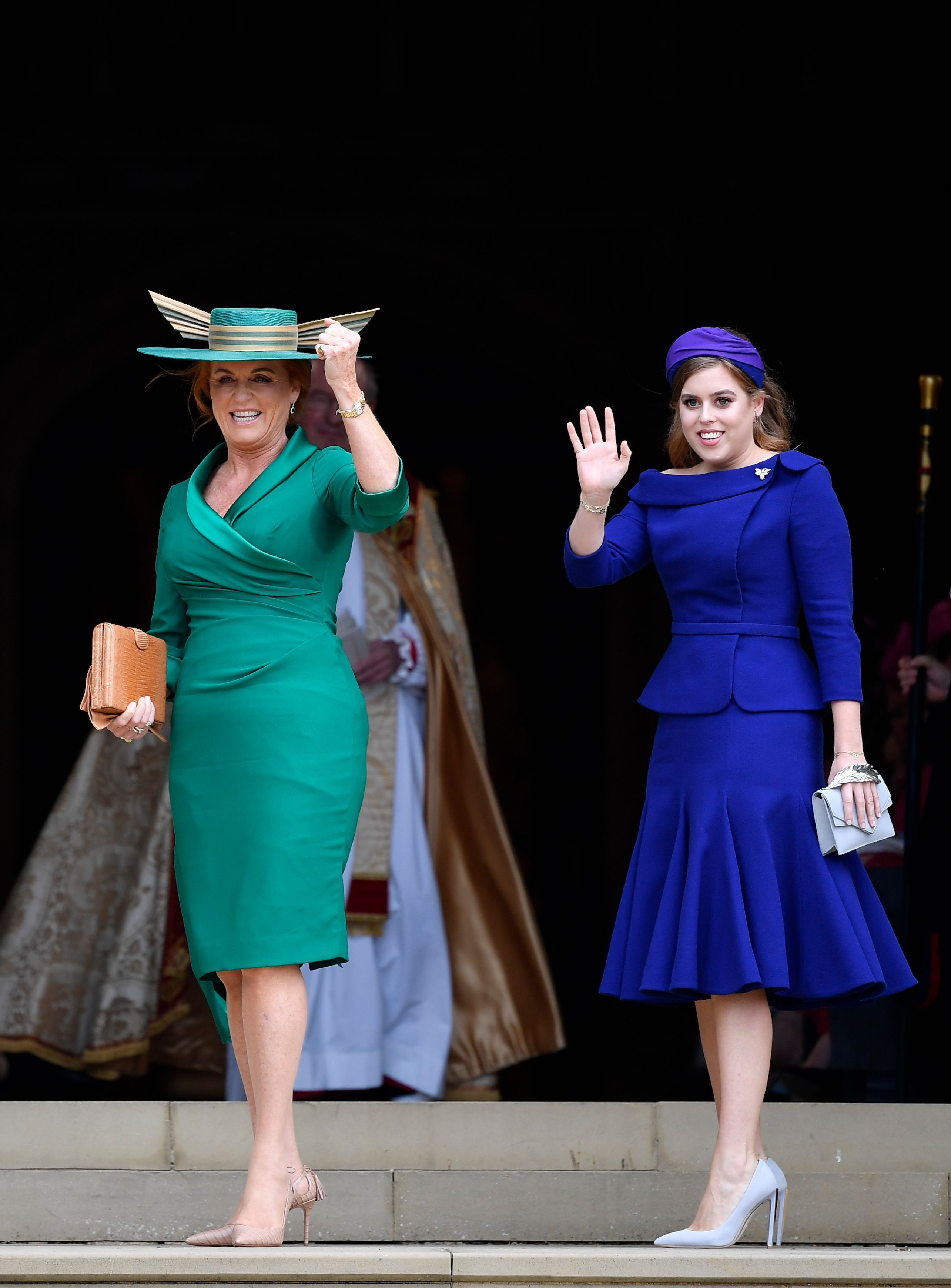 Princess Beatrice Didn T Wear A Hat To Princess Eugenie S Royal