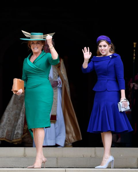 25858f54d57 Princess Beatrice Didn t Wear a Hat to Princess Eugenie s Royal Wedding