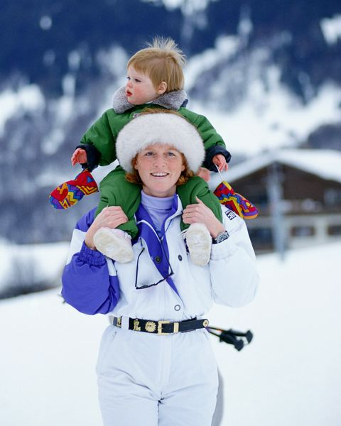 duchess of york and eugenie in klosters