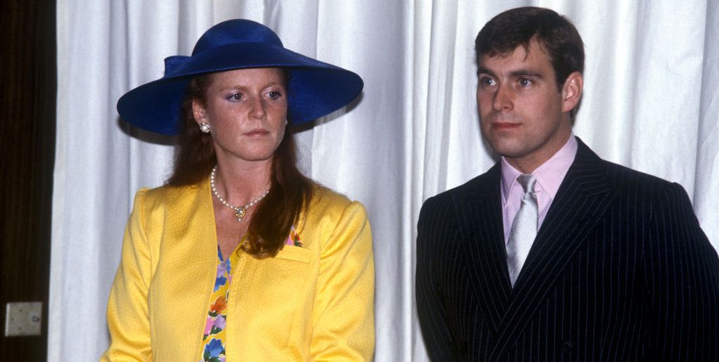 Sarah, Duchess Of York With Prince Andrew, Duke Of York, Watching A Fashion Show At The Royal York Hotel In Ontario, Canada.