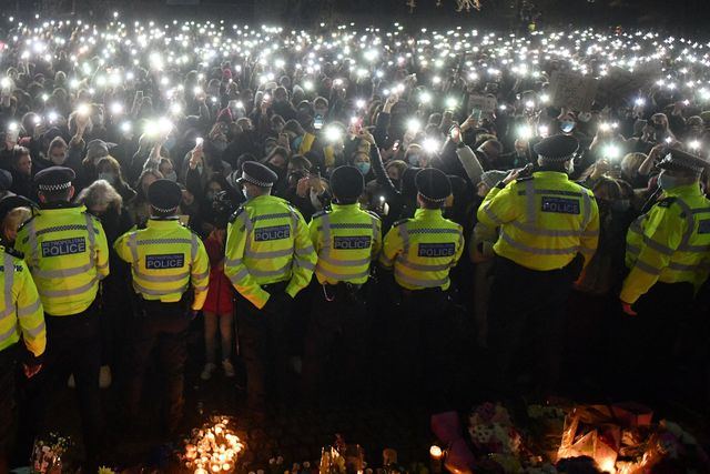 Male violence and ego managed to ruin the Sarah Everard vigil – and the irony is not lost on us