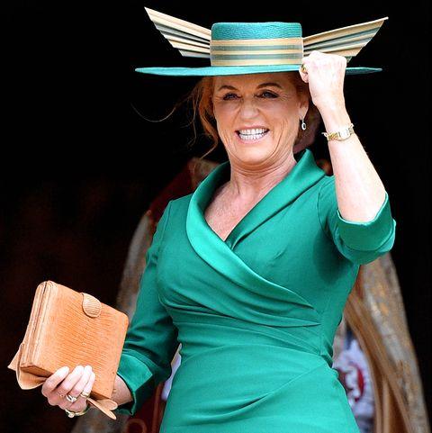 Sarah Ferguson -Princess Eugenie Of York Marries Mr. Jack Brooksbank