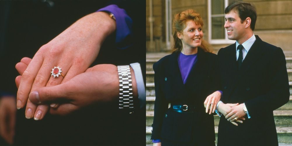 Sarah Ferguson S Engagement Ring Is One Of The Most Extravagant