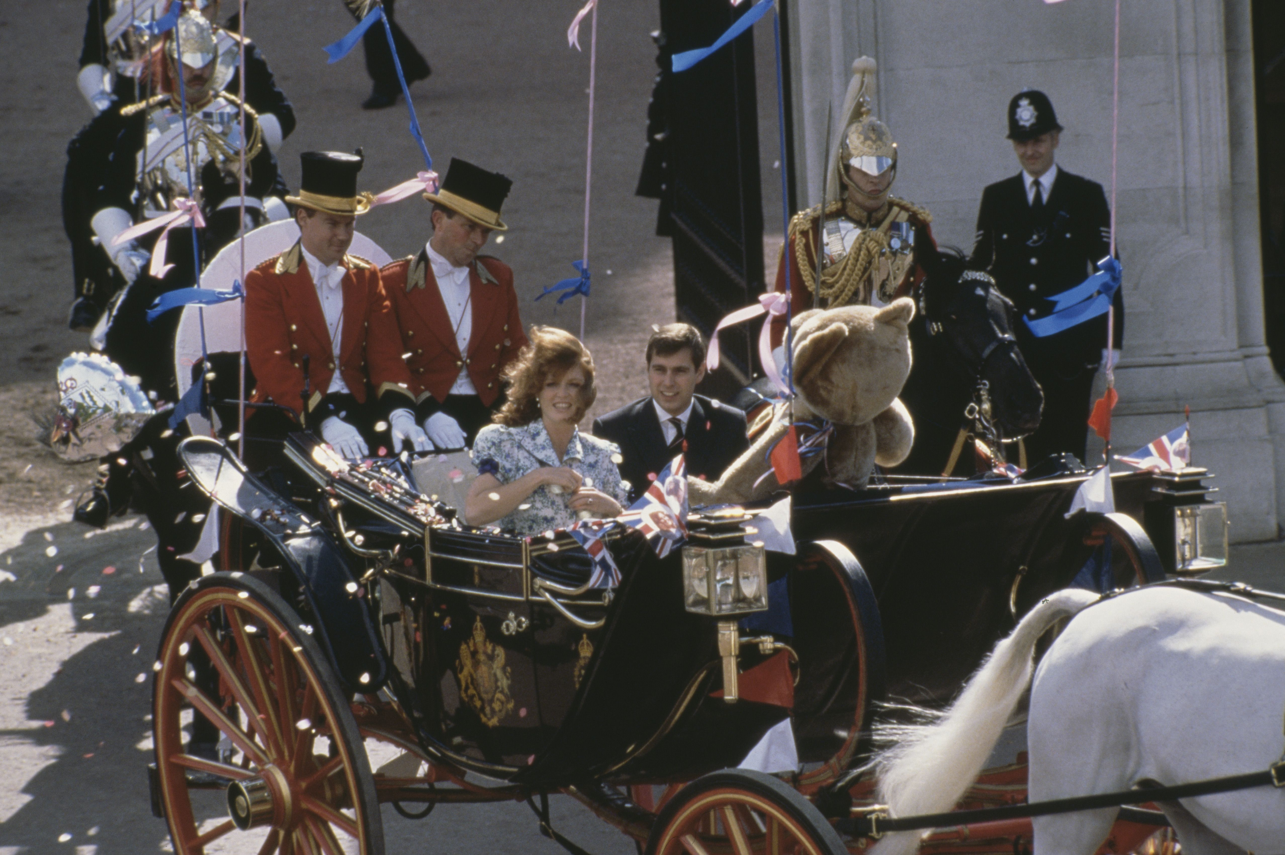 Royal Couple Depart