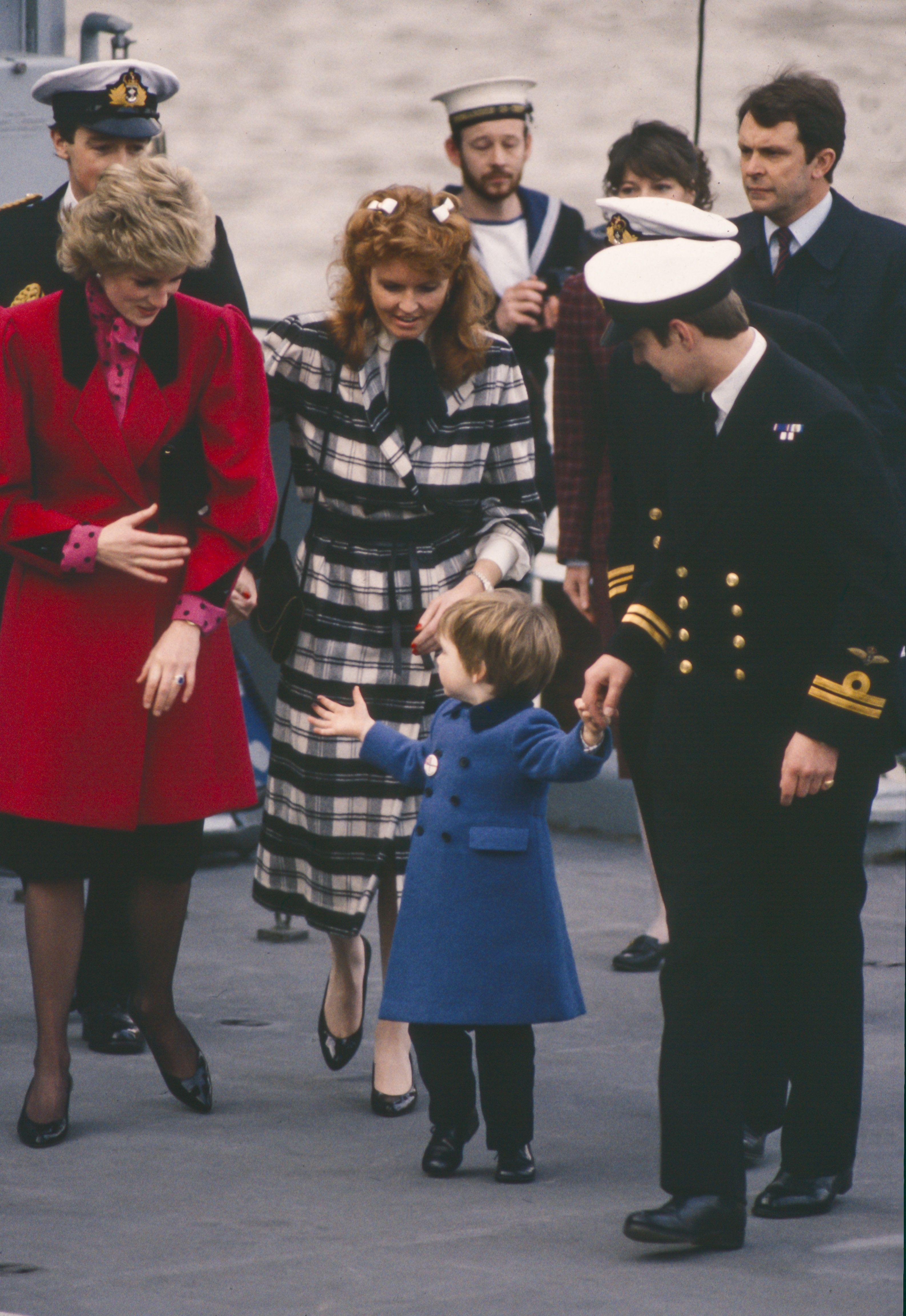 There is something very strange in the shots of Charles and Diana that they haven't paid attention to so far