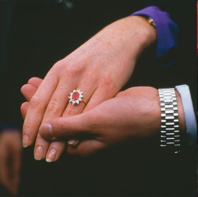 Sarah Ferguson S Engagement Ring Is One Of The Most Extravagant Rubies Ever