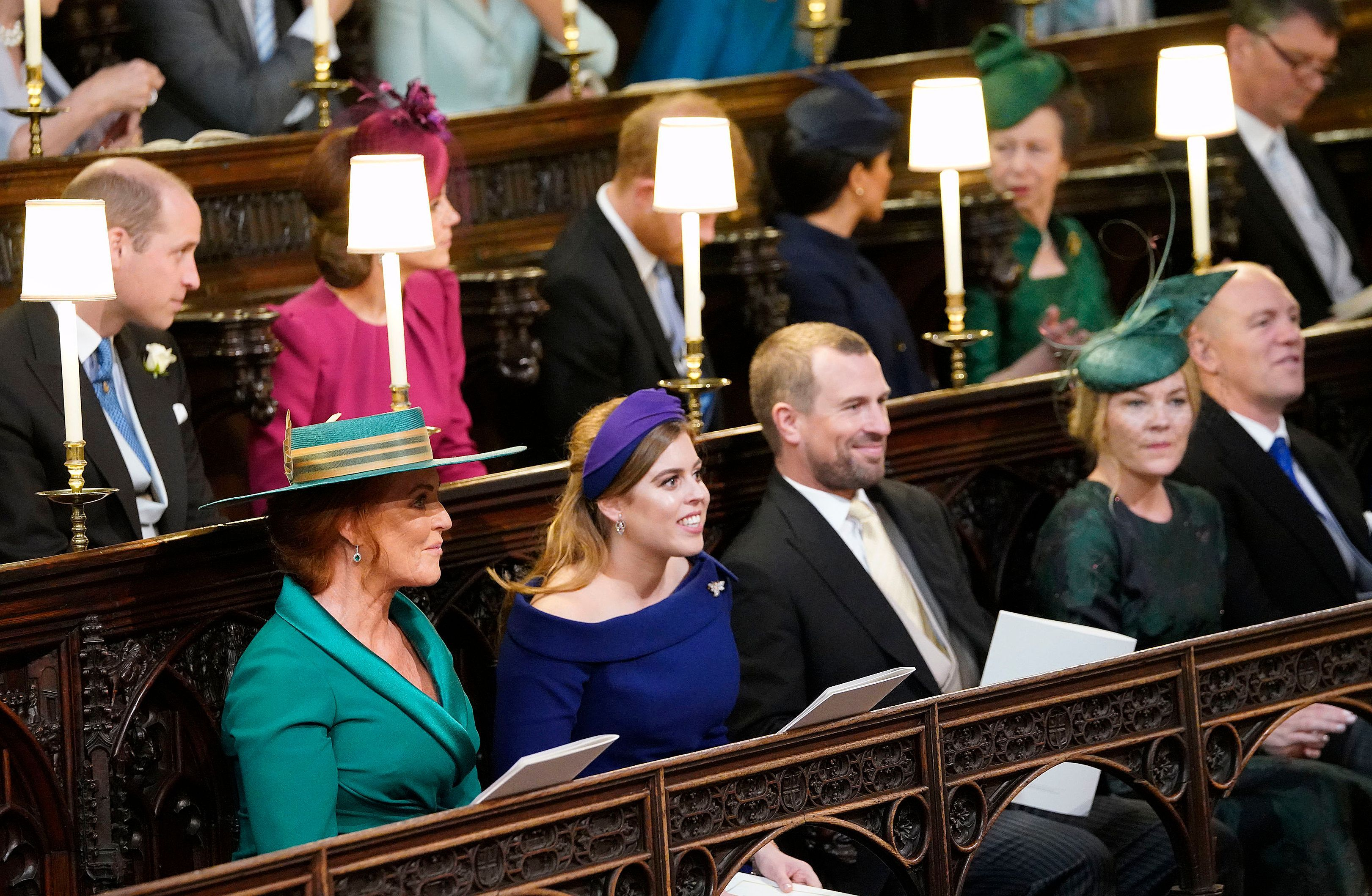 1096863a Sarah Ferguson's Seat at Princess Eugenie's Royal Wedding Was Really  Significant