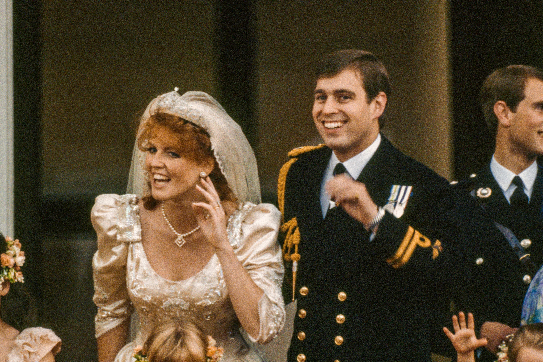 Prince Andrew And Sarah Ferguson S 1986 Wedding Photos Fergie