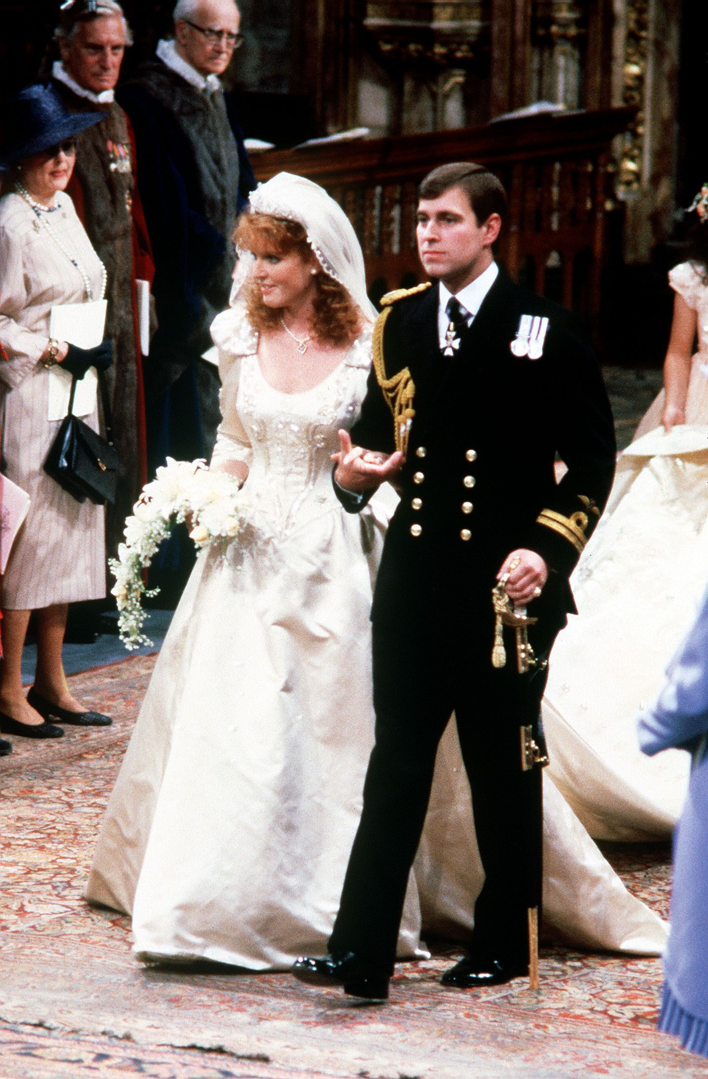 Sarah Ferguson and Prince Andrew\'s 1986 Wedding Still Takes the Cake
