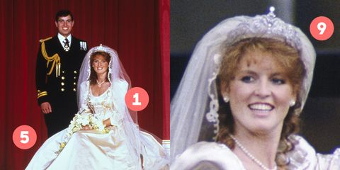 What You Didn T Know About Sarah Ferguson S Wedding Dress
