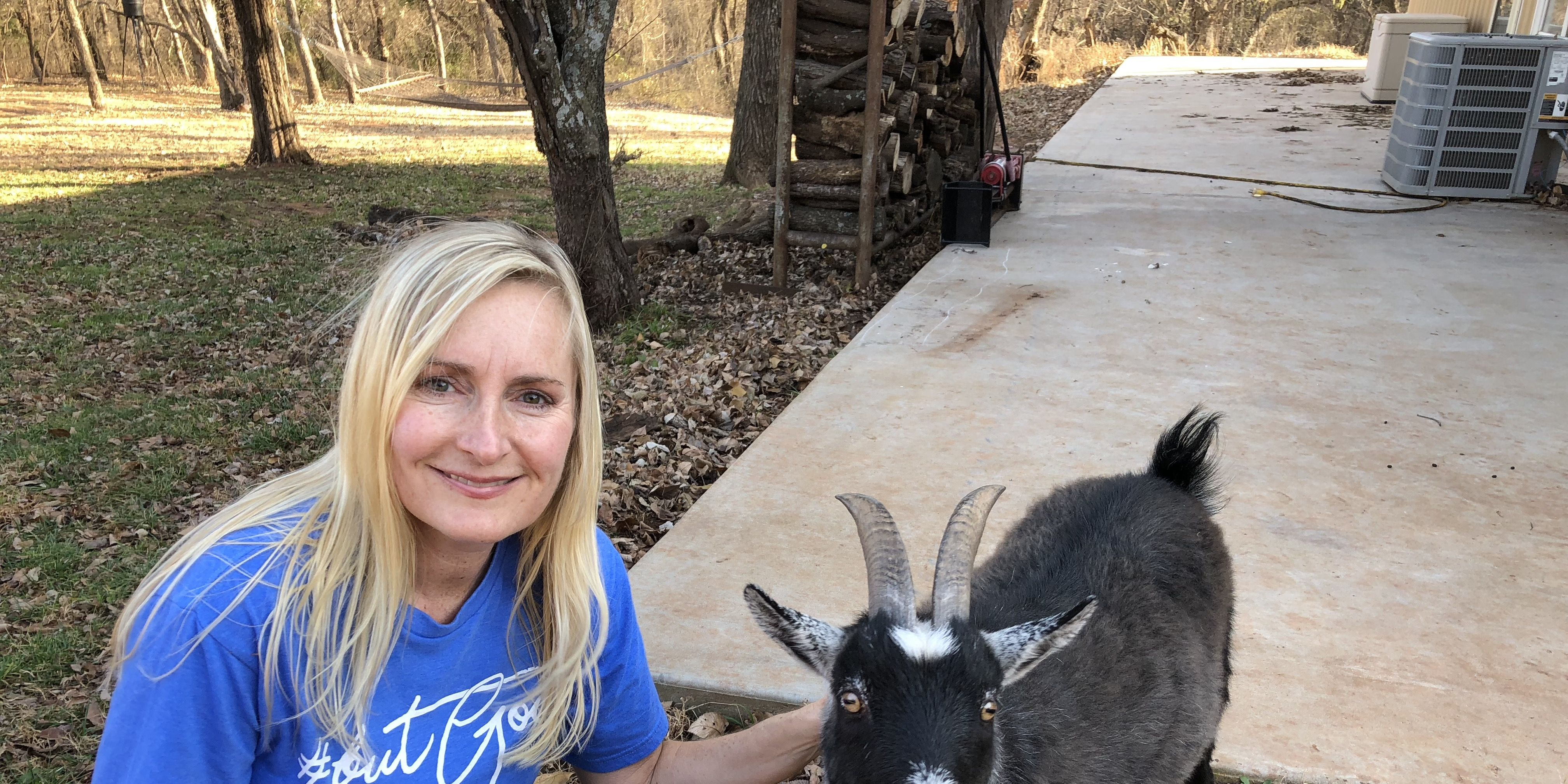 sarah hites and goat penny