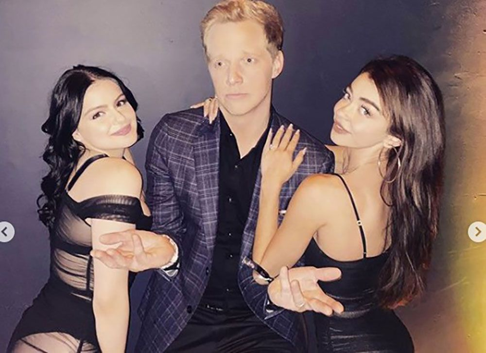 Ariel Winter Looked Amazing In A Sheer Black Dress At The 'Modern Family' Wrap Party