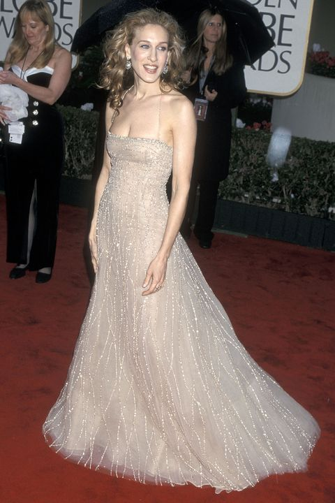 Sarah Jessica Parker at the 2000 Golden Globes