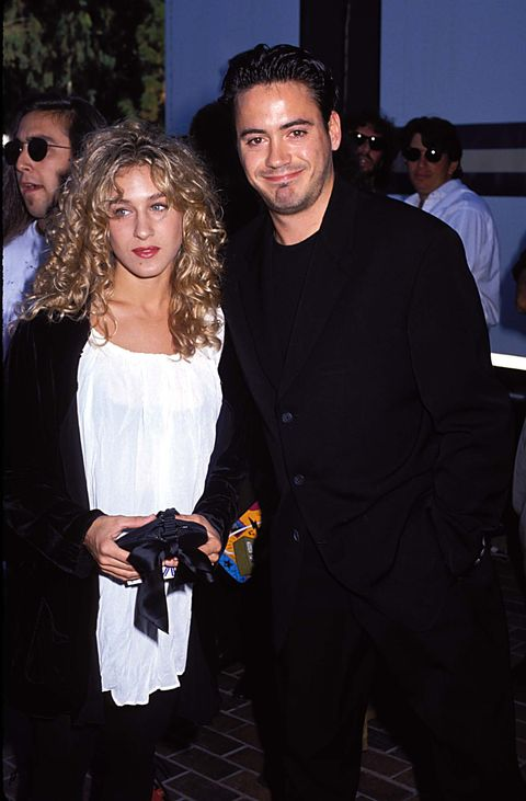 Sara Jessica Parker and Robert Downey Jr At The 1990 Video Music Awards