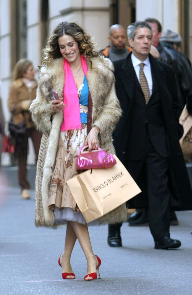 """""""sex and the city""""   final day of taping   fifth avenue   february 4, 2004"""