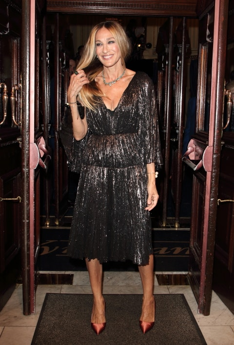 Sarah Jessica Parker at The Starry Messenger Press Night at...