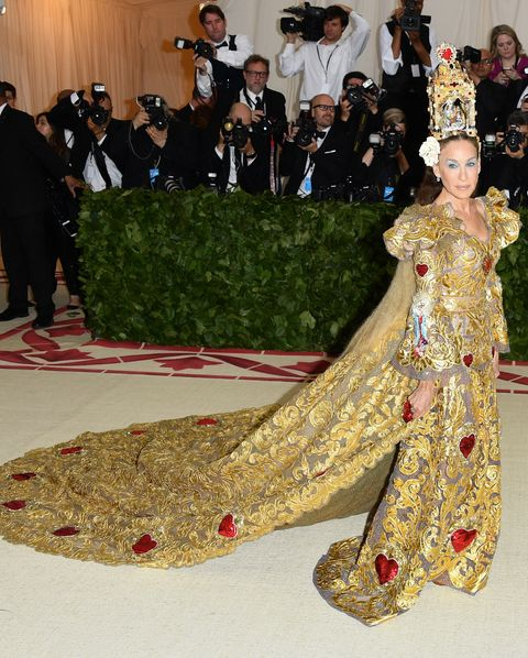 sarah jessica parker and la gala with the 2018