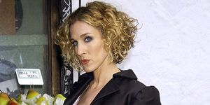 Photo Shoot of Sarah Jessica Parker for HBO's 'Sex and the City' 2002 series