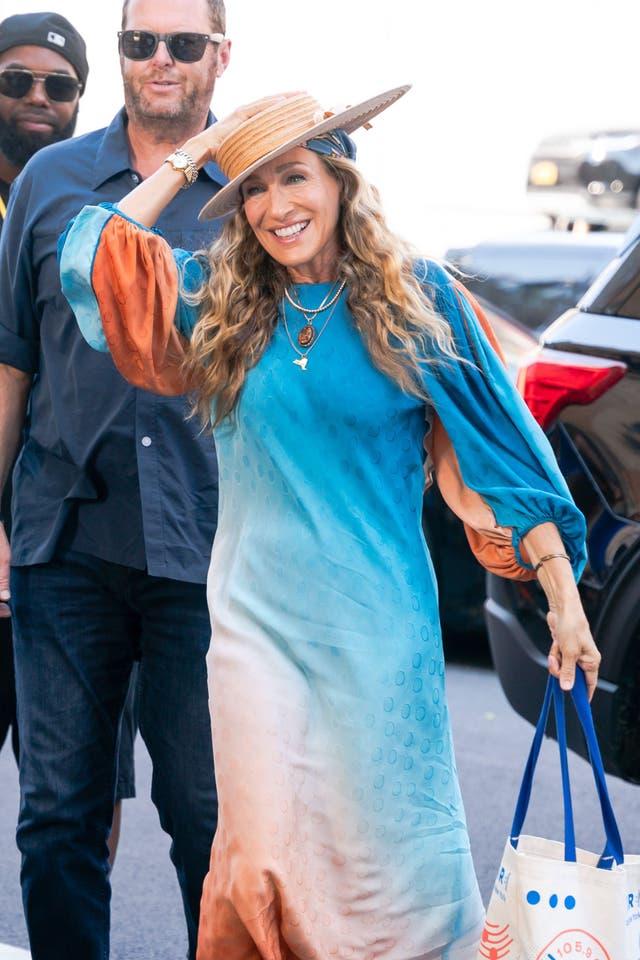 sarah jessica parker vestido color
