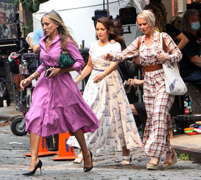 celebrity sightings in new york  july 20, 2021
