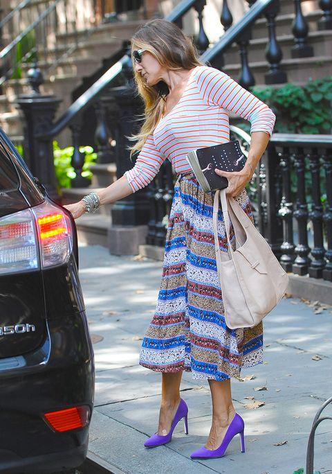Street fashion, Clothing, Fashion, Snapshot, Footwear, Sunglasses, Eyewear, Dress, Vehicle, Street,