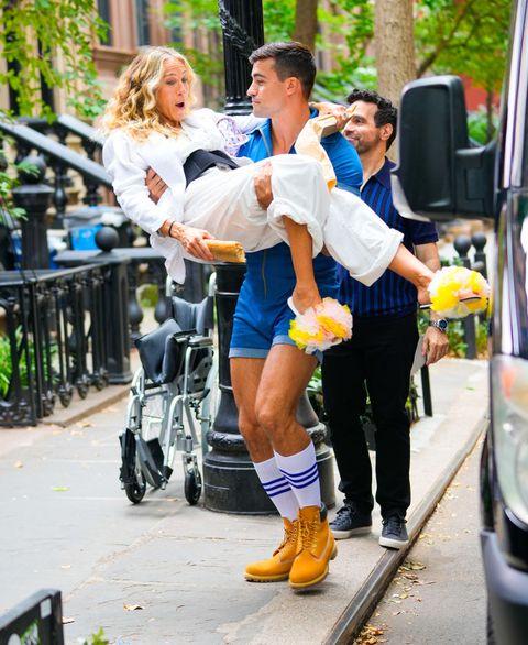 nuevas fotos del 'reboot' de 'sexo en nueva york'