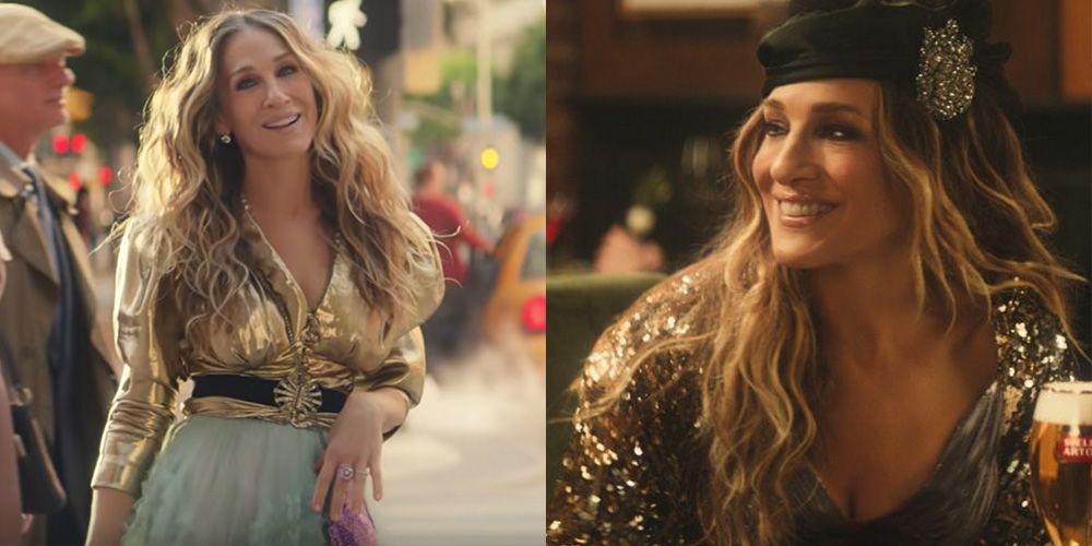 Sarah Jessica Parker Revives Carrie Bradshaw For Stella S