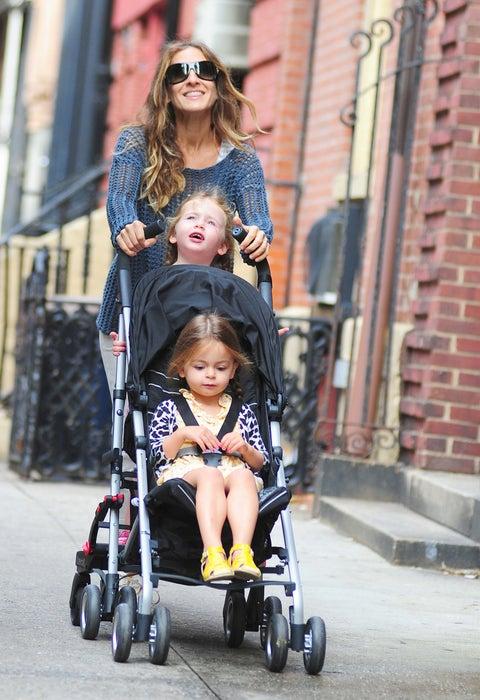 Celebrity Sightings In New York City - September 19, 2012