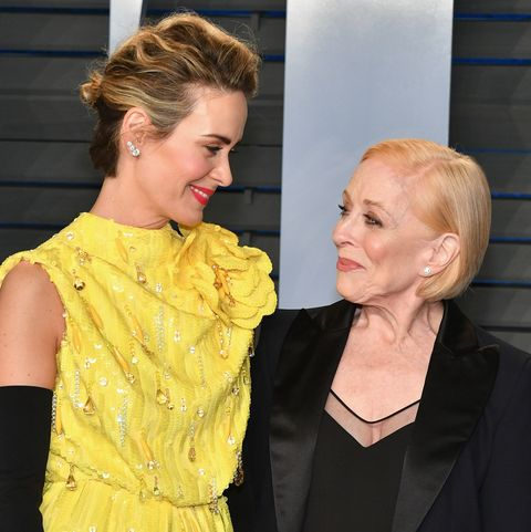Relationship Gap Its Not Just What >> Inside Sarah Paulson And Holland Taylor S Relationship