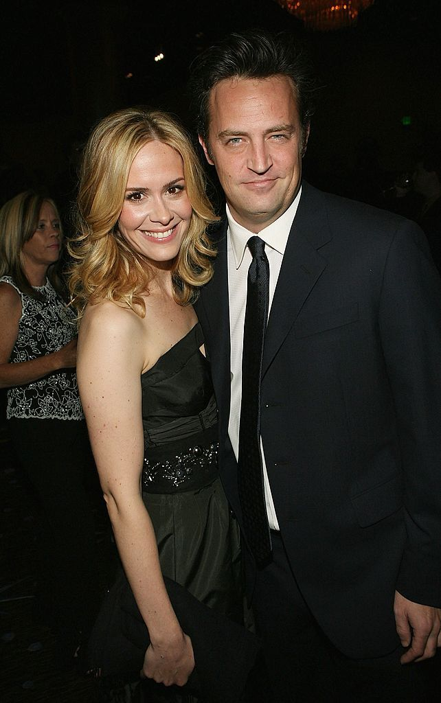 Sarah Paulson says Matthew Perry rejected her at a 'make out party'