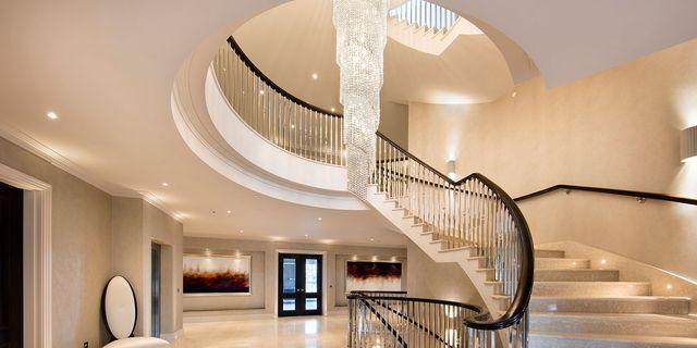 30 Entryway Lighting Ideas Foyer, How High Should I Hang A Foyer Chandelier
