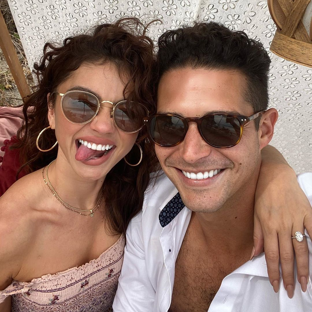 Everything You Need to Know About Sarah Hyland and Wells Adams' Upcoming Wedding