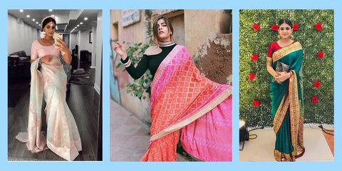 saree outfits