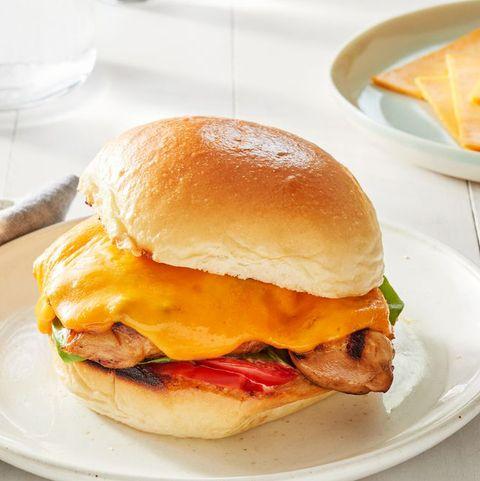 cheesy grilled chicken sandwich