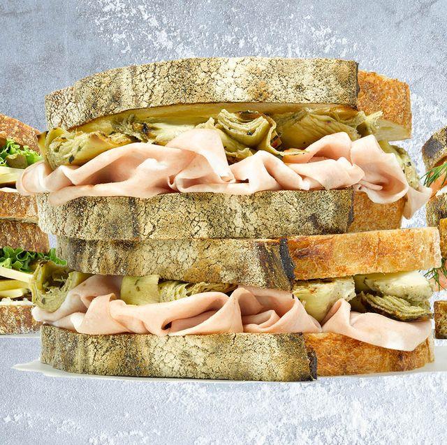 Finger food, Food, Sandwich, Ingredient, Cuisine, Baked goods, Gluten, Dish, Snack, Breakfast,