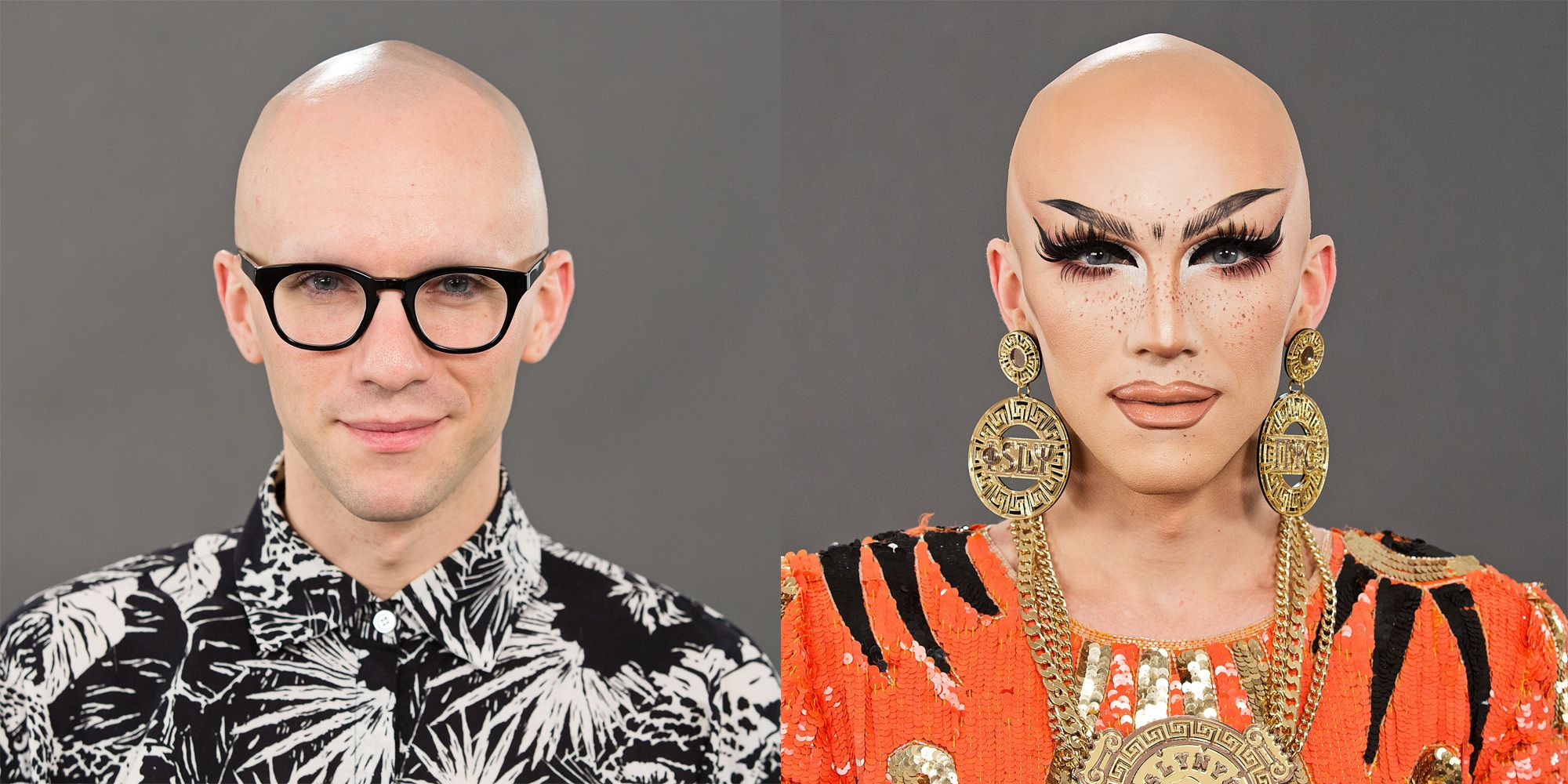 You Have to See Sasha Velour's Stunning Makeup Transformation