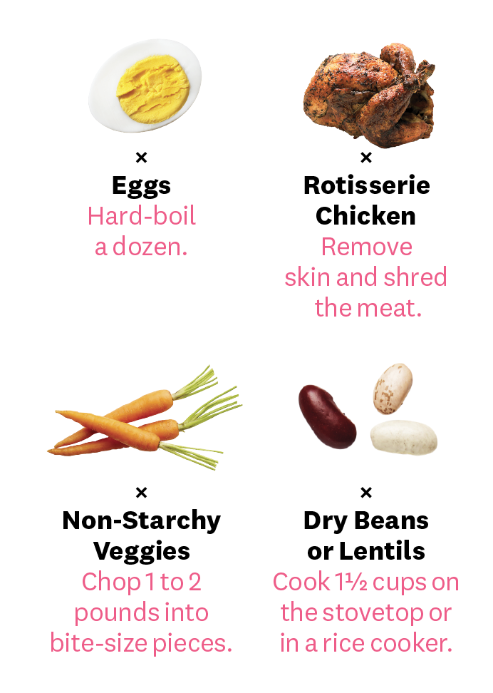 This Healthy Meal-Prep Plan Is Crazy-Easy—Promise