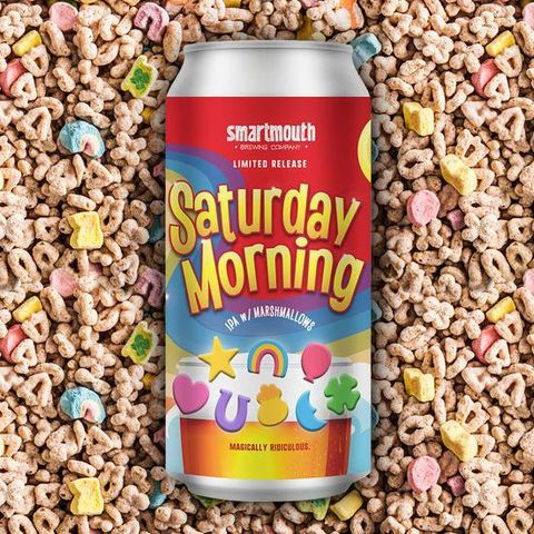 This Limited-Edition 'Saturday Morning' IPA Is Lucky Charms-Themed