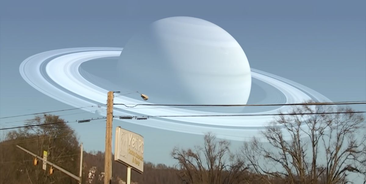 This Video Shows What the Sky Would Look Like if Planets Replaced the Moon