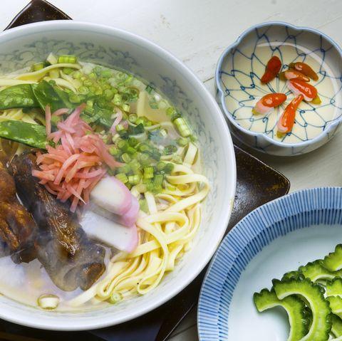 sauche buckwheat local cuisine  okinawa