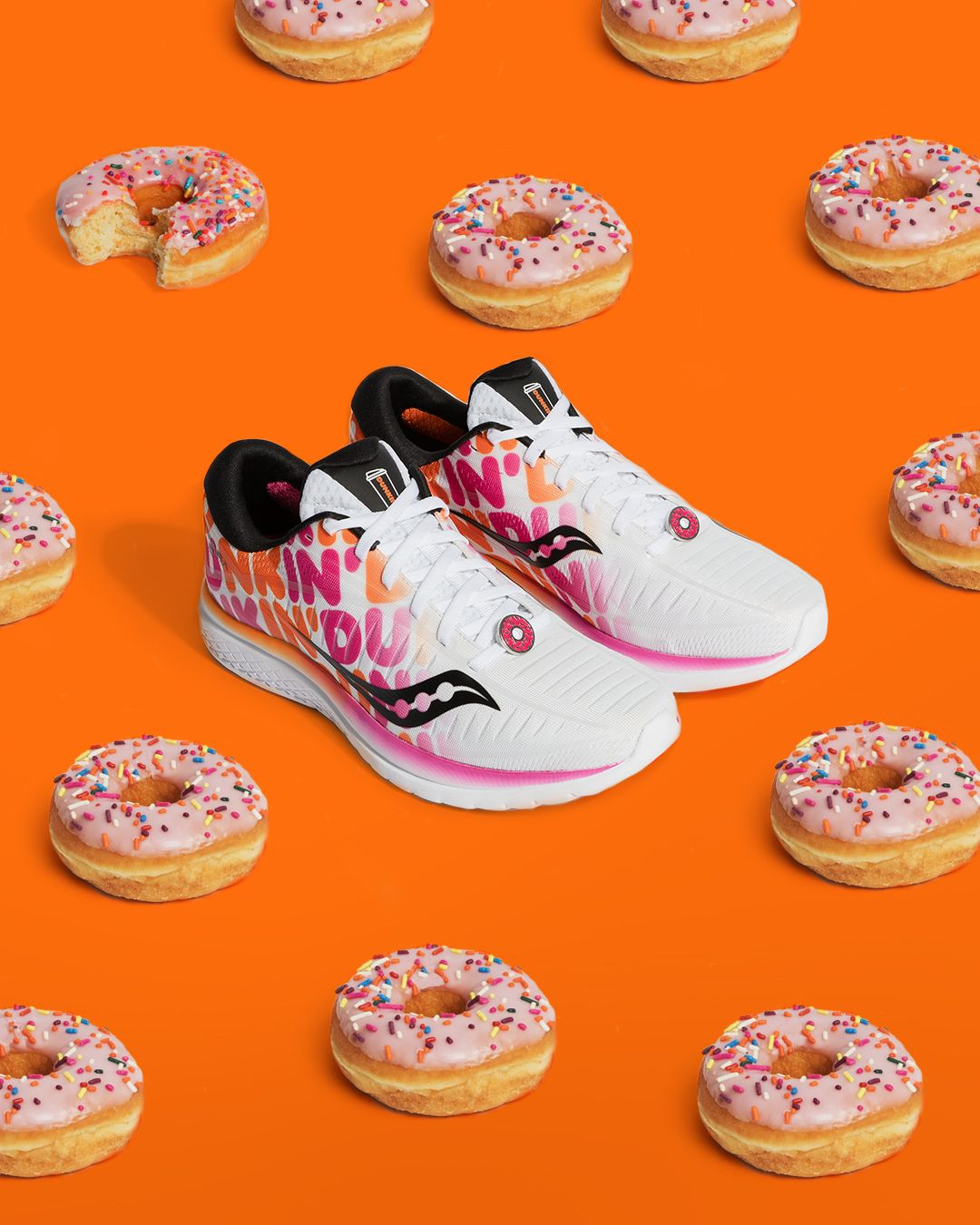 Dunkin  Released A New Donut Sneaker - Saucony x Dunkin  Kinvara e5b2a71516a