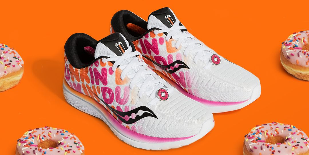 Dunkin Released A New Donut Sneaker saucony X Dunkin