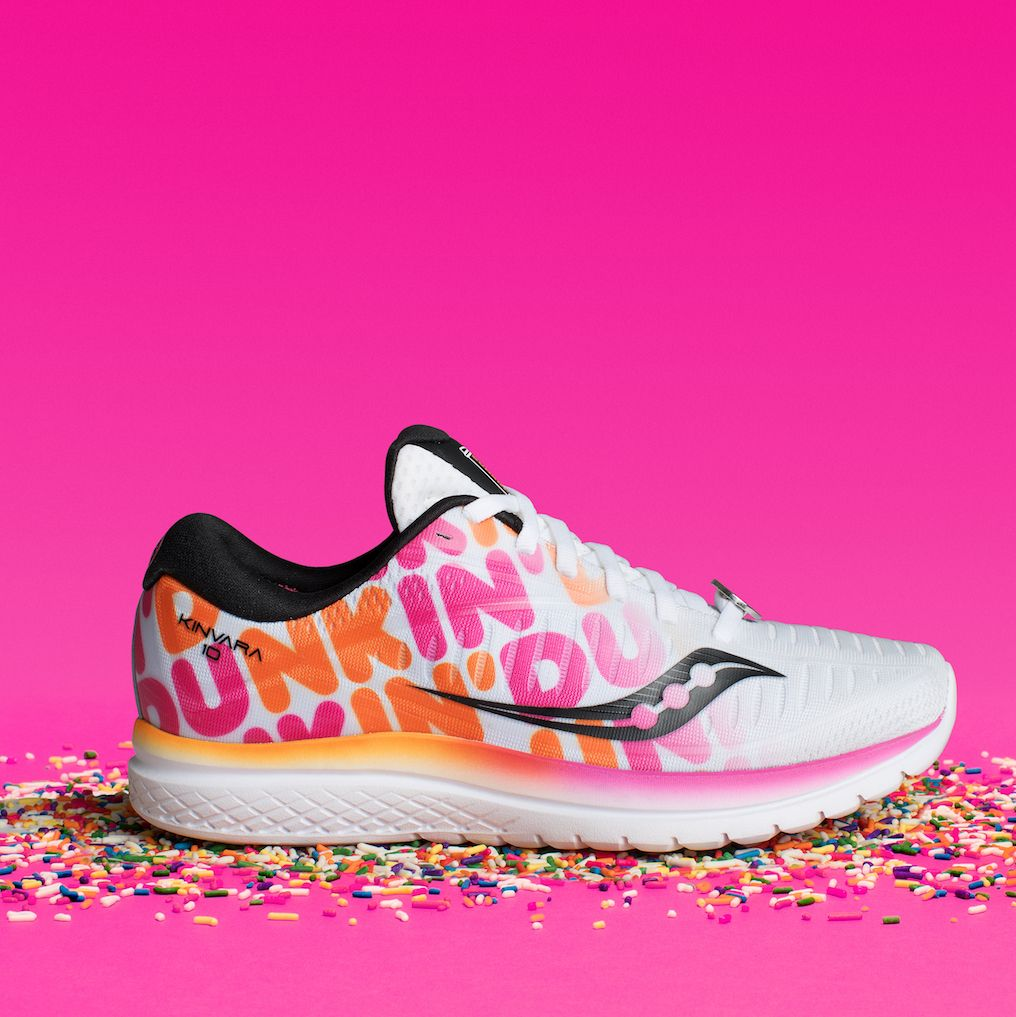 Saucony Is Back With Doughnut-Themed Shoes for the Boston Marathon