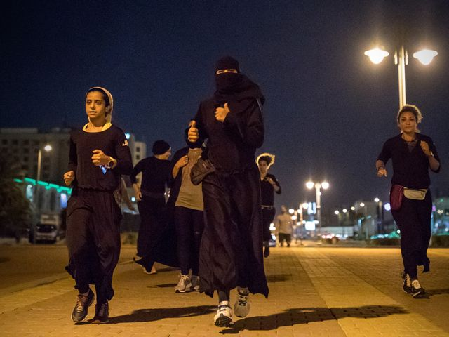 2530075cd3bc Women in Saudi Arabia Are Running—and They re Not Going to Stop